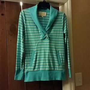 Banana Republic Striped Pullover Small